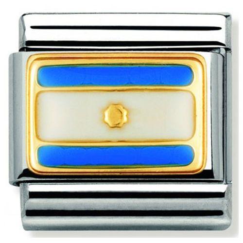 Maillon Nomination classic drapeau Argentine