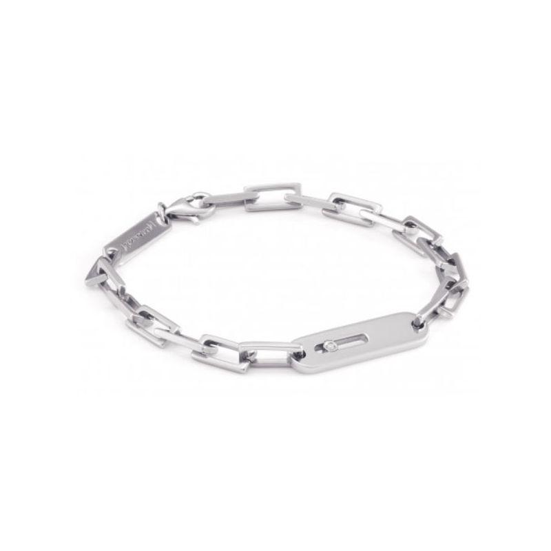 Bracelet Nomination acier et Diamant