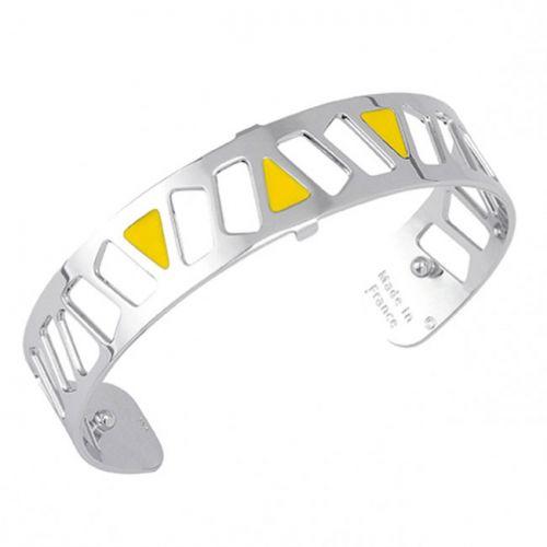 Bracelet manchette Les Georgettes motif Mai Thai finition Argent small