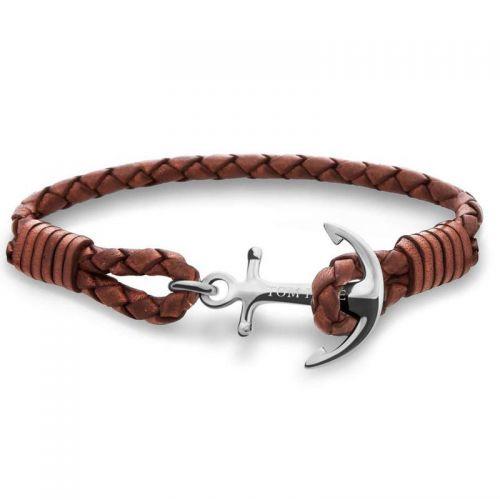 Bracelet Tom Hope Cognac Brown