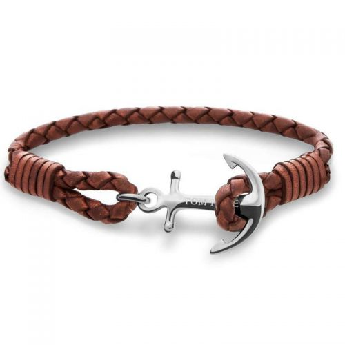 Bracelet Tom Hope Cognac Brown
