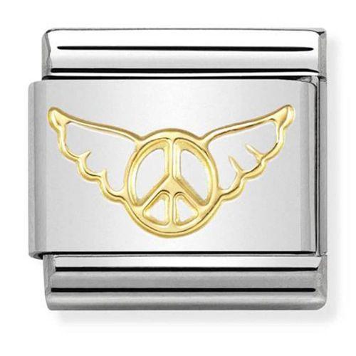 Maillon Nomination classic paix et ailes