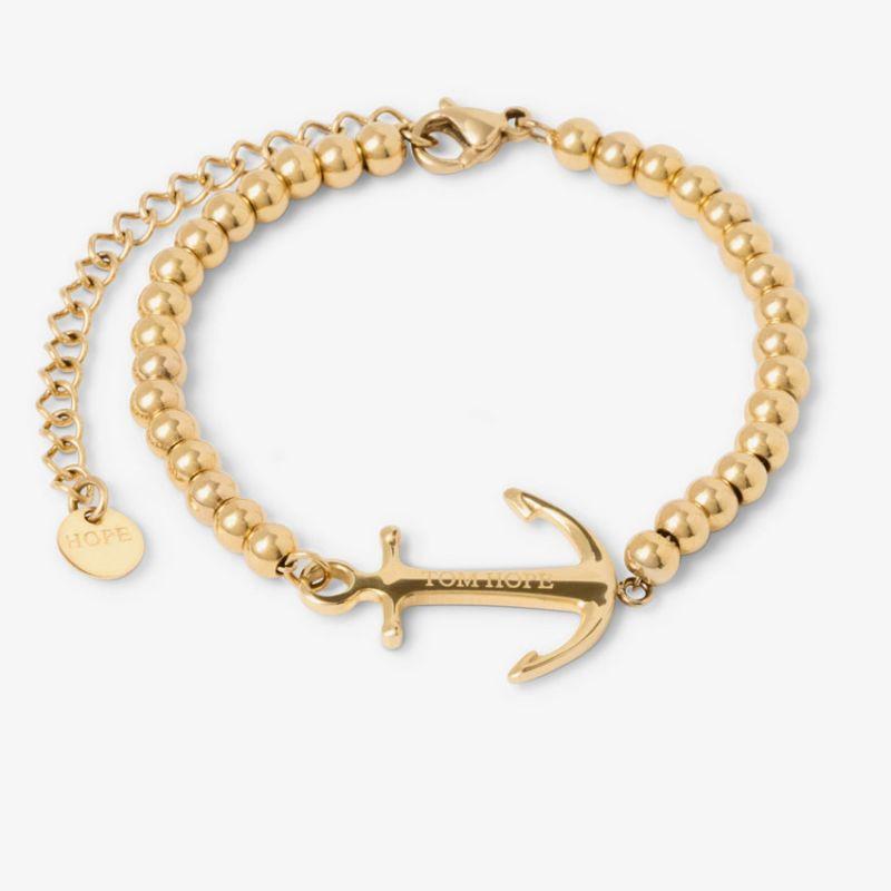 Bracelet Tom Hope Saint Perline Gold