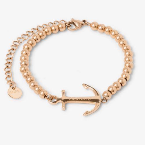 Bracelet Tom Hope Saint Perline Rose Gold