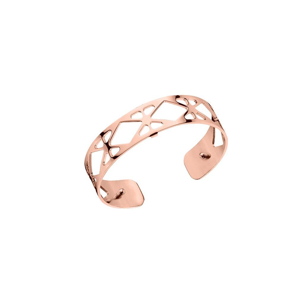 Or Finition Les Georgettes Resille Small Motif Bracelet Rose Manchette BerdxCo