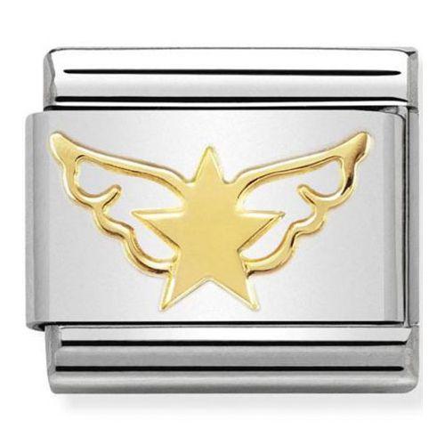 Maillon Nomination classic étoile et ailes