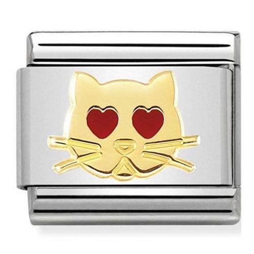Maillon Nomination classic chat amoureux