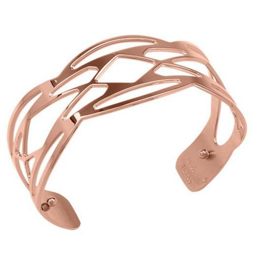 Bracelet manchette Les Georgettes motif apache finition Or rose small