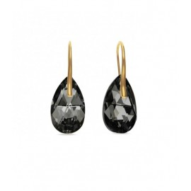 Boucles d'oreilles Spark Plaqué Or sur Argent et cristaux