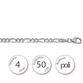 Chaine fine argent - 001044