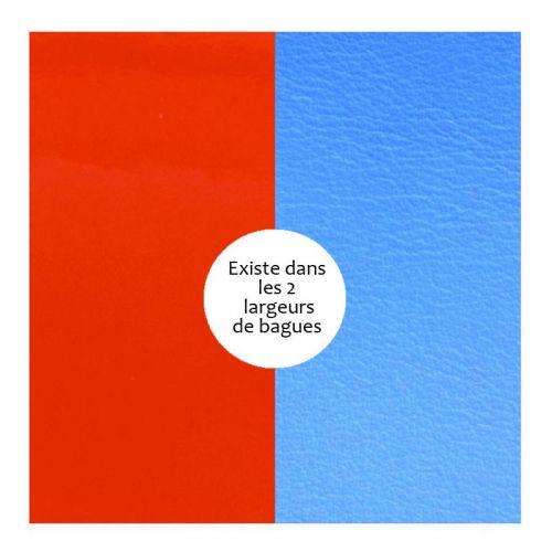 Vinyle de bague reversible les Georgettes orange/bleu