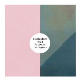 Vinyle de bague reversible les Georgettes rose / essence