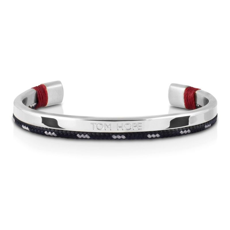 Bracelet Tom Hope Hybrid 2 Atlantic Red