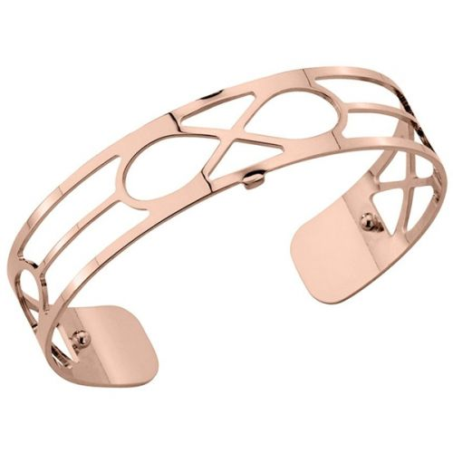Bracelet manchette Les Georgettes motif infini finition Or rose small