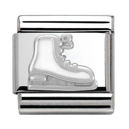 Maillon Nomination classic patin à glace en Argent