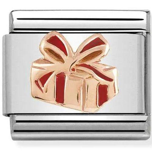 Maillon Nomination classic cadeau Or rose