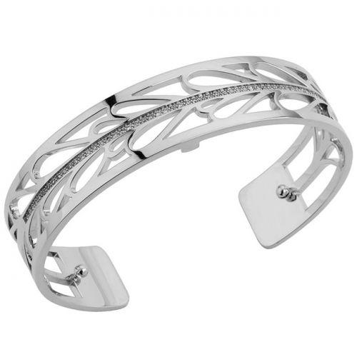 Bracelet manchette Les Georgettes précieuses motif fontaine finition Argent small