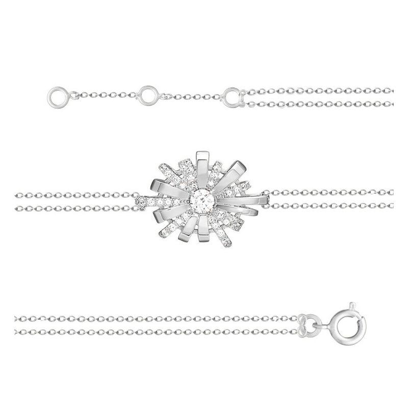 Bracelet Argent symbole infini