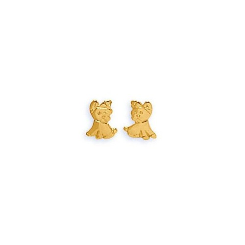 Boucles d'oreilles enfant Or