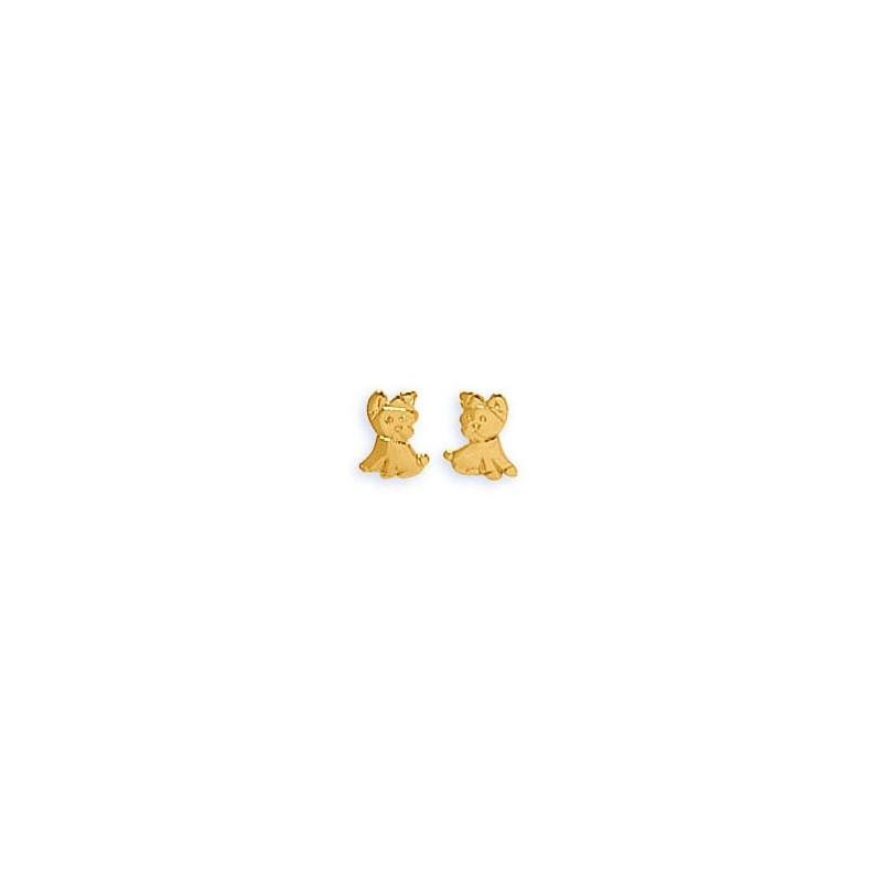 Boucles oreilles or - 001118
