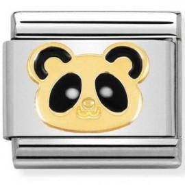 Maillon Nomination classic tête de panda