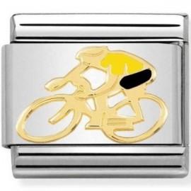 Maillon Nomination classic cycliste maillot jaune