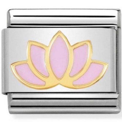 Maillon Nomination classic fleur lotus