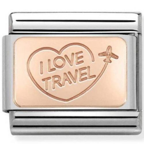Maillon Nomination classic I love travel