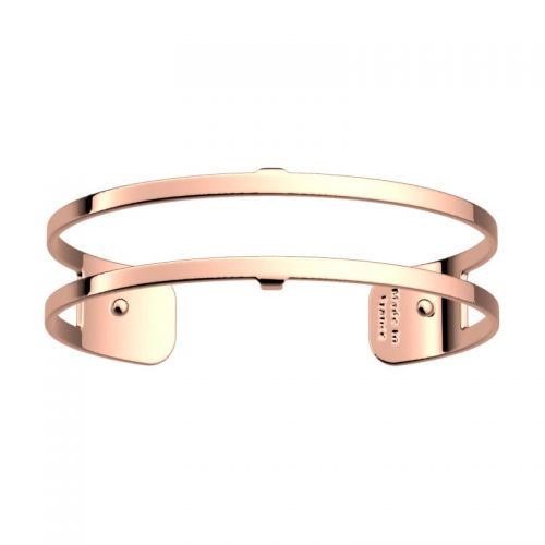 Bracelet manchette Les Georgettes motif pure finition Or rose small
