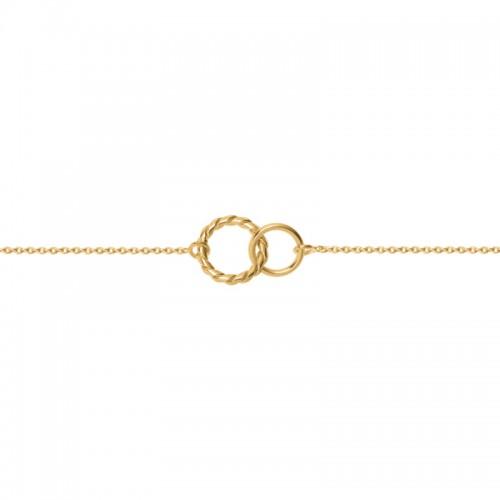 Bracelet Saunier Bolero en Plaqué Or