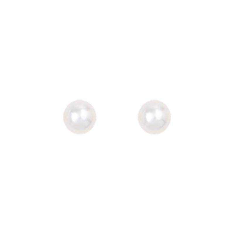 Boucles d'oreilles Perle Blanche Idylle Saunier
