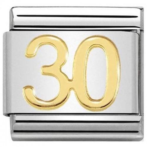 Maillon Nomination classic nombre trente