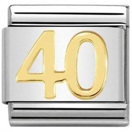 Maillon Nomination classic nombre quarante