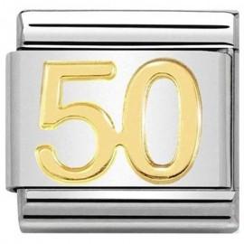Maillon Nomination classic nombre cinquante