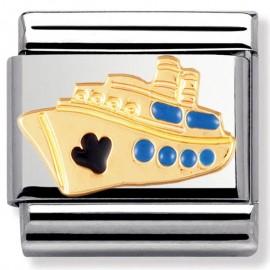 Maillon Nomination classic bateau en Or