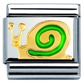 Maillon Nomination classic escargot en Or