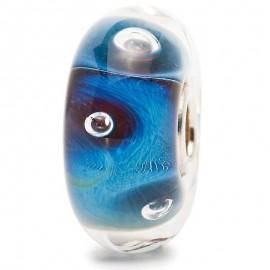 Perle en verre Oeil Trollbeads