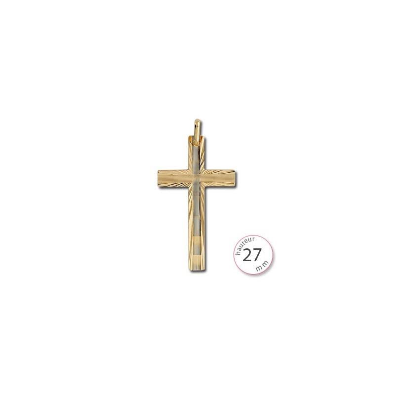 Pendentif croix en Or - 001401