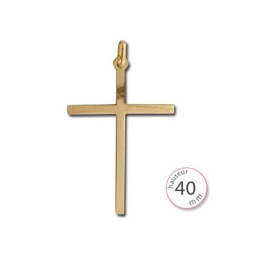 Croix pendentif Or - 001404