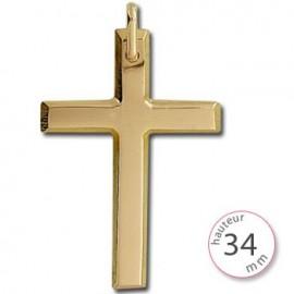 Bijou croix or - 001407