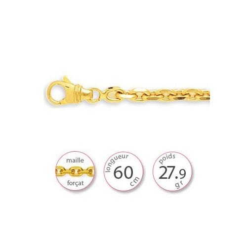 Chaine lourde en or - 001484