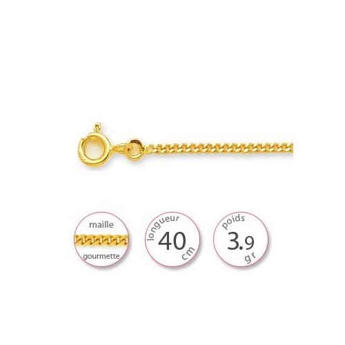 Chaine gourmette - 001485