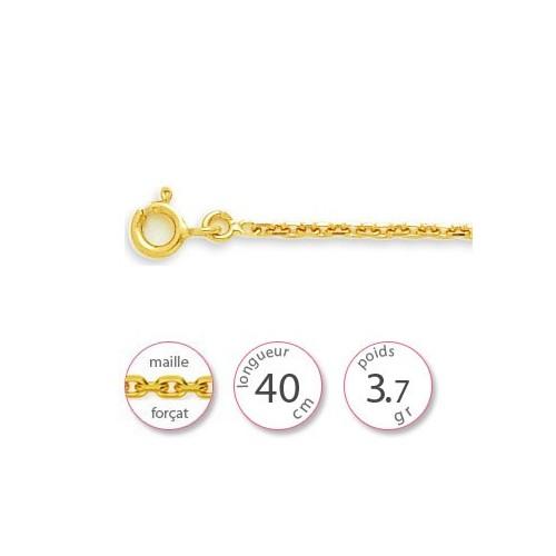 Chaine or jaune - 001443