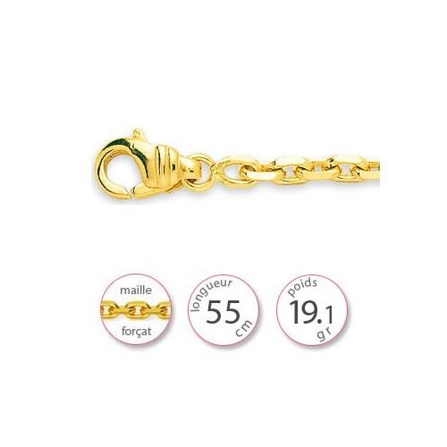 Chaine or jaune - 001477