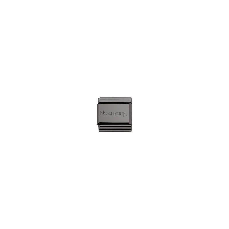 Maillon Nomination classic titanium - 000213