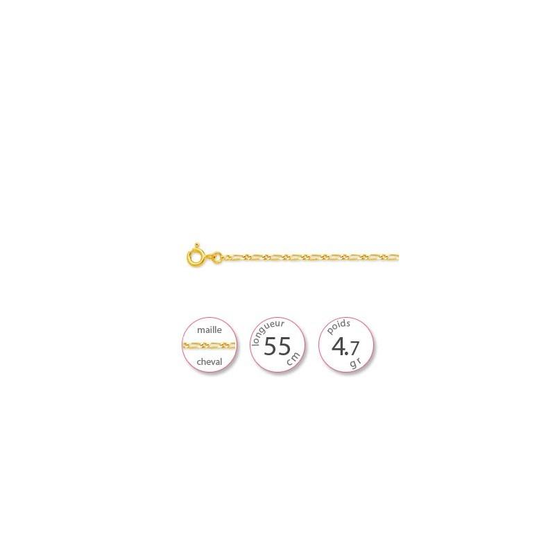 Chaine en Or jaune - 001810
