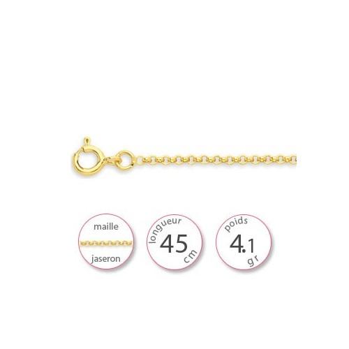 Chaine Or jaune - 001836