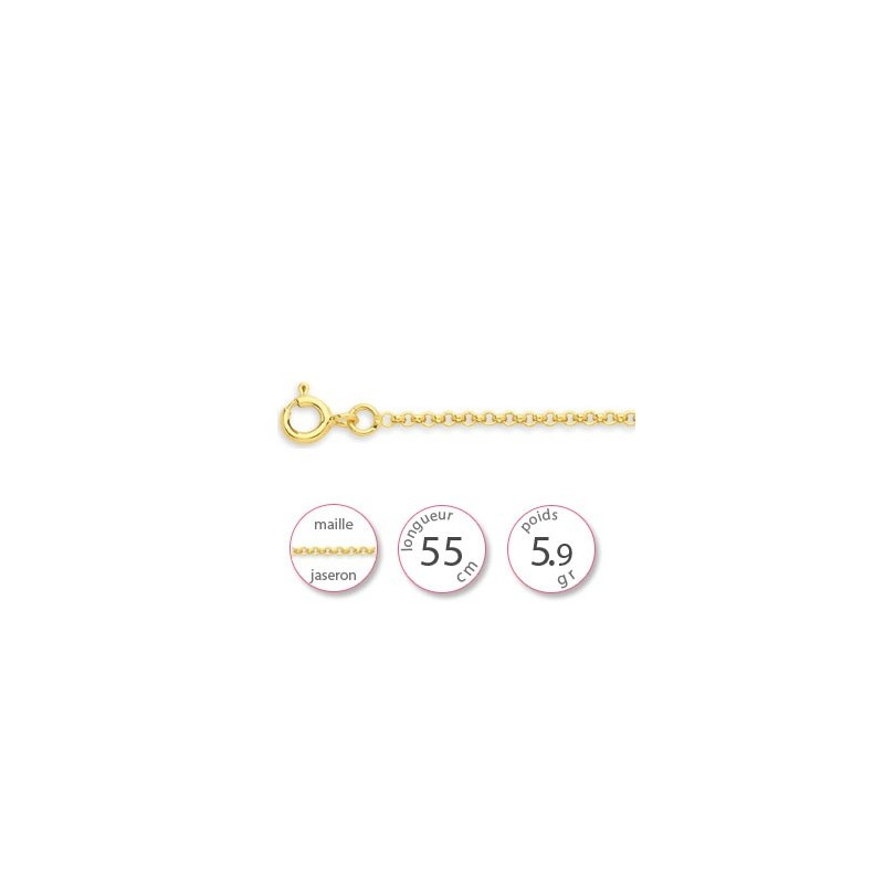 Une chaine en Or - 001838