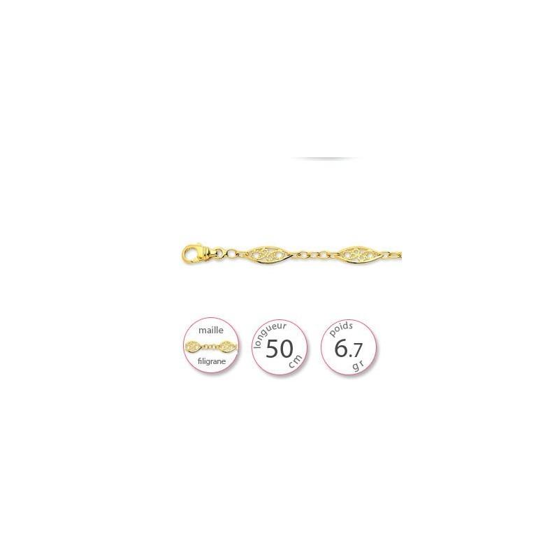 Chaine filigrane - 001851