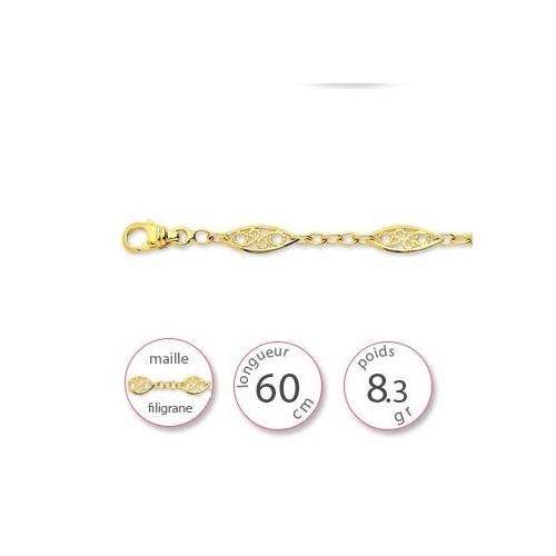 Chaine en filigrane - 001852